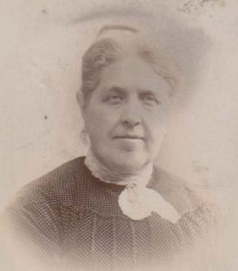 Zillah Rastall in her fifties