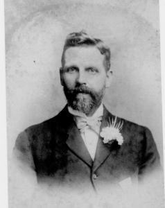 Isaac Robinson Batey at wedding