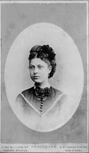 Sarah Stagg c1880